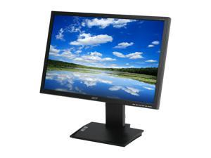 "Acer B223WBbmzdr Black 22"" 5ms Widescreen LCD Monitor w/t Height and Pivot Adjustments Built-in Speakers"