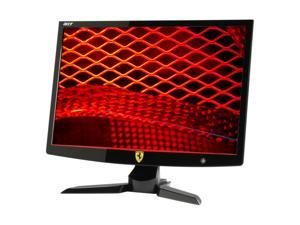 "Acer Ferrari F-22 Black-Red 22"" 2ms Widescreen LCD Monitor Built in AC Adapter"