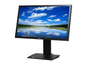 "Acer B243HLbmdrz Black 24"" Height,Swivel,Pivot & Tilt Adjustable LED Backlight LCD Monitor w/Speakers"