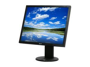 "Acer B193DJbmdh Black 19"" 5ms Height Adjustable LCD Monitor w/Speakers Built-in Speakers"