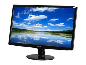 "Acer S201HLbd Black 20"" 5ms LED-Backlight LCD monitor"