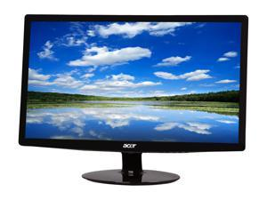 "Acer S212HLbd Black 21.5"" Full HD LED BackLight LCD Monitor Slim Design"