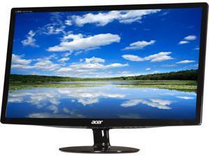 """Acer S242HLbid Black 24"""" Full HD HDMI LED BackLight LCD Monitor Slim Design"""
