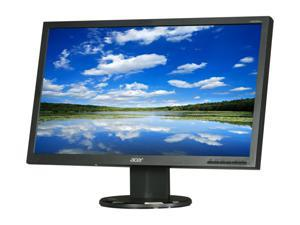 "Acer V203HLBJbd Black 20"" 5ms Widescreen LED Backlight LCD Monitor"