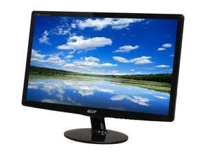 "Acer S Series S202HL bd (ET.DS2HP.001) Glossy Black 20"" 5ms Widescreen LED Backlight LCD Monitor"