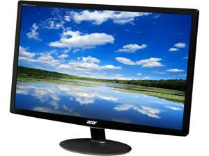 """Acer S Series S240HL Abid Black 24"""" 5ms Widescreen LED Backlight LCD Monitor"""