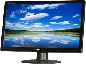 "Acer S200HQLBD Black 20"" 5ms Widescreen LED Backlight LCD Monitor"