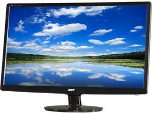 "Acer S241HL bmid (UM.FS1AA.001) Black 24"" 5ms Widescreen LED Backlight Monitor Built-in Speakers"