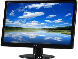 "Acer S200HQLAB Black 19.5"" 5ms  Widescreen LED Backlight LCD Monitor250 cd/m2"
