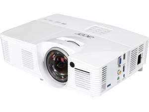 "Acer H6517ST Projector, 3000 Lumens, 10000:1 Contrast Ratio, 45""-300"" Image Size, HDMI, USB, VGA, Composite Video, Built-in Speaker"