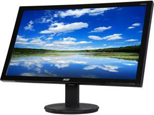 "Acer K242HQL 23.6"" TN Panel Widescreen LED/LCD Monitor 1920x1080 Resolution at 60Hz Refresh Rate&#59; 1ms GTG Response Time&#59; VGA/DVI/HDMI with VESA Mount Capability"