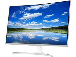 "Acer ED Series ED322Q Silver 31.5"" VA 4ms (GTG) Curved Widescreen LED/LCD Monitor 1920 x 1080 FHD, Dynamic Angles, w/Acer Flicker Less Technology, Visual Comfortable Tech and Built in Speakers"