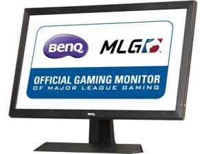"BenQ RL2455HM Black-Red 24"" TN 1ms (GTG) Gaming Monitor, 250 cd/m2 DCR 12,000,000:1 (1,000:1), 2 Speakers, Black eQualizer, HDMI DVI-DL D-Sub"