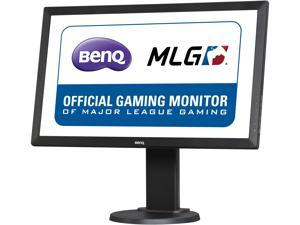 "BenQ RL2460HT Black 24"" 1ms (GTG) Gaming Monitor, 250 cd/m2 DCR 12,000,000:1 (1000:1), Height Adjustment Stand, Speaker, D-Sub DVI-D HDMI, Fighting Mode Feature"