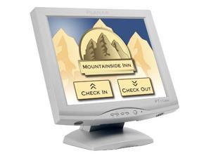 "Planar PT1710MX-WH(997-3351-00) 17"" Dual RS-232 Serial/USB 5-wire Resistive TouchScreen Monitor w/Speakers"