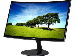 "SAMSUNG C22F390 Glossy Black 21.5"" 4ms (GTG) HDMI Widescreen LED Backlight LCD Monitor Curved"