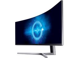 "Samsung C49HG90 49"" QLED Curved HDR AMD FreeSync 2 Gaming Monitor, 3840 x 1080 1ms, 32:9 Aspect Ratio, Quantum Dot, HDMIx2, DisplayPort, Mini DisplayPort, USB HUB Super Charger"