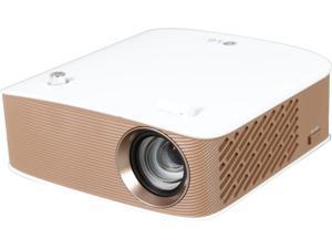LG PH150G LED RGB Projector with Embedded Battery and Wireless Screen Share Up to 130 Lumens HD (1280 x 720), Built-in Speakers