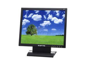 "SCEPTRE X7G-NagaVI Black 17"" 8ms LCD Monitor"
