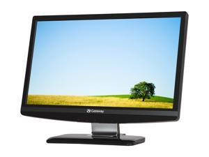 "Gateway HX2001L bmd(L-ET.DW1HP.001) Black 20"" 5ms Widescreen LED Backlight LCD Monitor Built-in Speakers"