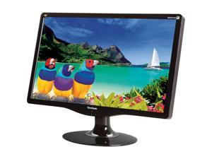 "ViewSonic VA2431WM Glossy Black 23.6"" 5ms Widescreen Full HD 1080P LCD Monitor Built-in Speakers Built-in Speakers"