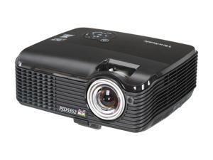 ViewSonic PJD5352 XGA 1024x768 2600 Lumens 3D Ready Short Throw DLP Projector