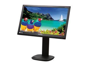 "ViewSonic VG2436wm-LED Black 24"" Full HD Height,Swivel & Tilt Adjustable LED Backlight LCD Monitor w/Speakers"