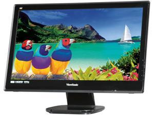 "ViewSonic VX2253mh-LED Black 22"" Full HD HDMI LED Backlight LCD Monitor Slim Design w/Speakers"