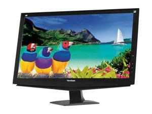 "ViewSonic VA2448m-LED Black 24"" Full HD LED Backlight LCD Monitor w/Speakers"