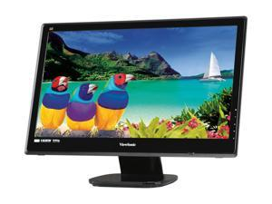 "ViewSonic VX2453mh-LED Black 23.6"" 2ms Widescreen LED Backlight LCD Monitor Built-in Speakers"