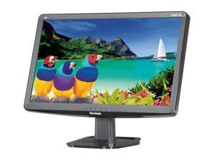 "ViewSonic VA2033-LED Black 20"" 5ms Widescreen LED Backlight LCD Monitor"