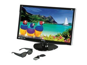 "ViewSonic V3D231 Black 23"" 2ms Widescreen LED Backlight LCD Monitor Built-in Speakers"