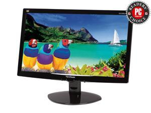"ViewSonic VA1938WA-LED Black 19"" (18.5"" Vis) 5ms Widescreen LED Backlight LCD Monitor"