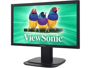"""ViewSonic VG2039m-LED Black 20"""" 5ms Widescreen LED Backlight Height, Swivel, Tilt LCD Monitor"""