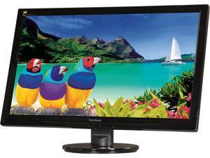 "ViewSonic VA2446M-LED Black 24"" 5ms Widescreen LED Backlight LCD Monitor"