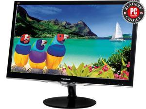 "ViewSonic VX2452MH 24"" Full HD 1080P Gaming Monitor, 1000:1, 300 cd/m2, HDMI, VGA, DVI-D, Built-in Speakers, VESA Mountable"