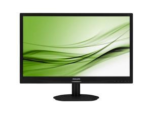 "PHILIPS Black 24"" 5ms LED Backlight LCD Monitor"