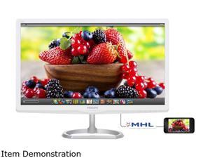 "PHILIPS 276E6ADSS White / Silver 27"" 5ms (GTG) HDMI Widescreen LED Backlight LCD Monitor IPS"