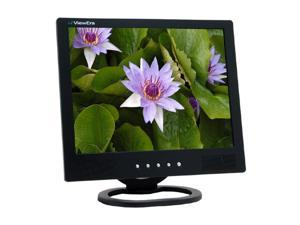 "ViewEra V151SV-B Black 15"" 8ms LCD Video Monitor Built-in Speakers"