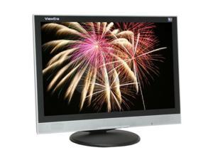 "ViewEra V193D-SB Silver-Black 19"" 5ms Widescreen LCD Monitor Built-in Speakers"