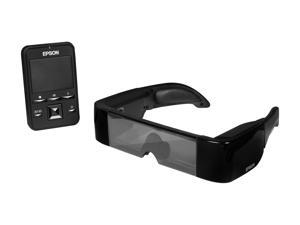 EPSON Moverio BT-100 Android Powered See-Through Wearable 3D Display