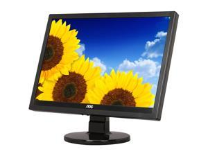 "AOC 919Vwa Piano-black 19"" 5ms Widescreen LCD Monitor Built-in Speakers"