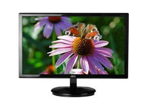 "AOC E2243FWSK Black 22"" 5ms Widescreen LED Backlight LCD Monitor"