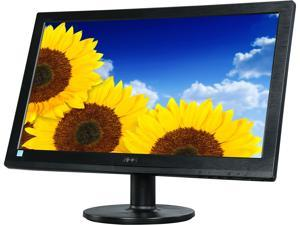 "AOC E2060SWD Black 19.5"" LED Backlight Monitor, 1600 x 900, 200cd/m2, VGA, DVI-D with HDCP for high-definition connections, Vesa Mountable"