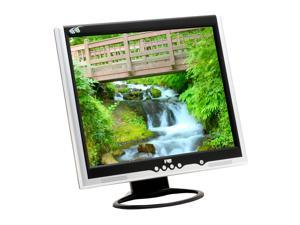 "FujiPLUS FP-988D Silver-Black 19"" 12ms LCD Monitor Built-in Speakers"