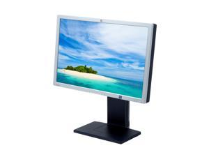 "HP LP2465 Carbonite-Silver 24"" 6 ms (GTG) Widescreen LCD Monitor with Height & Pivot Adjustments"