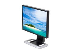 """HP LP1965 Black-Silver 19"""" 6ms(GTG) LCD Monitor with USB2.0 ports & Height & Pivot Adjustments"""