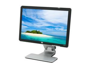 "HP w2207 Black-Silver 22"" 5ms Widescreen LCD Monitor Built-in Speakers"