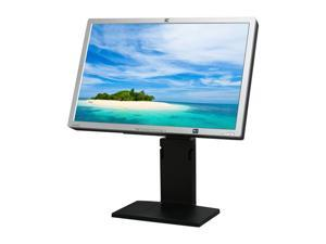 "HP LP2465 Silver / Black 24"" 8ms Widescreen LCD Monitor with Height & Pivot Adjustments"