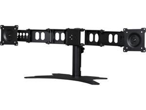 "DoubleSight Displays Dual Display Stand TAA - Up to 44lb - Up to 24"" LCD Monitor - Desk-mountable"